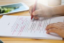 My Story - editing a manuscript